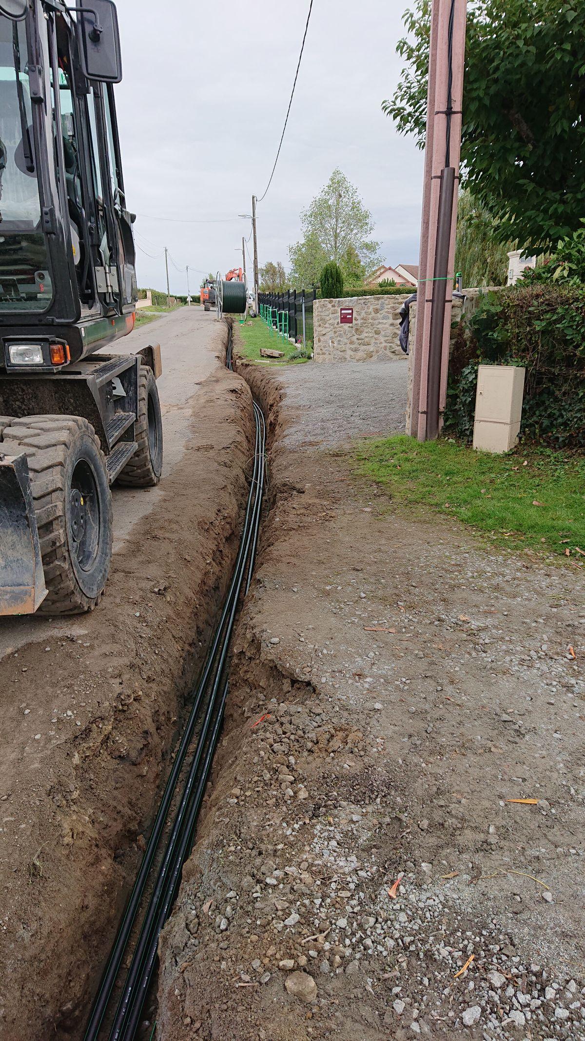 chantier voirie réseau vrd en creuse - Galerie Terrassement / VRD