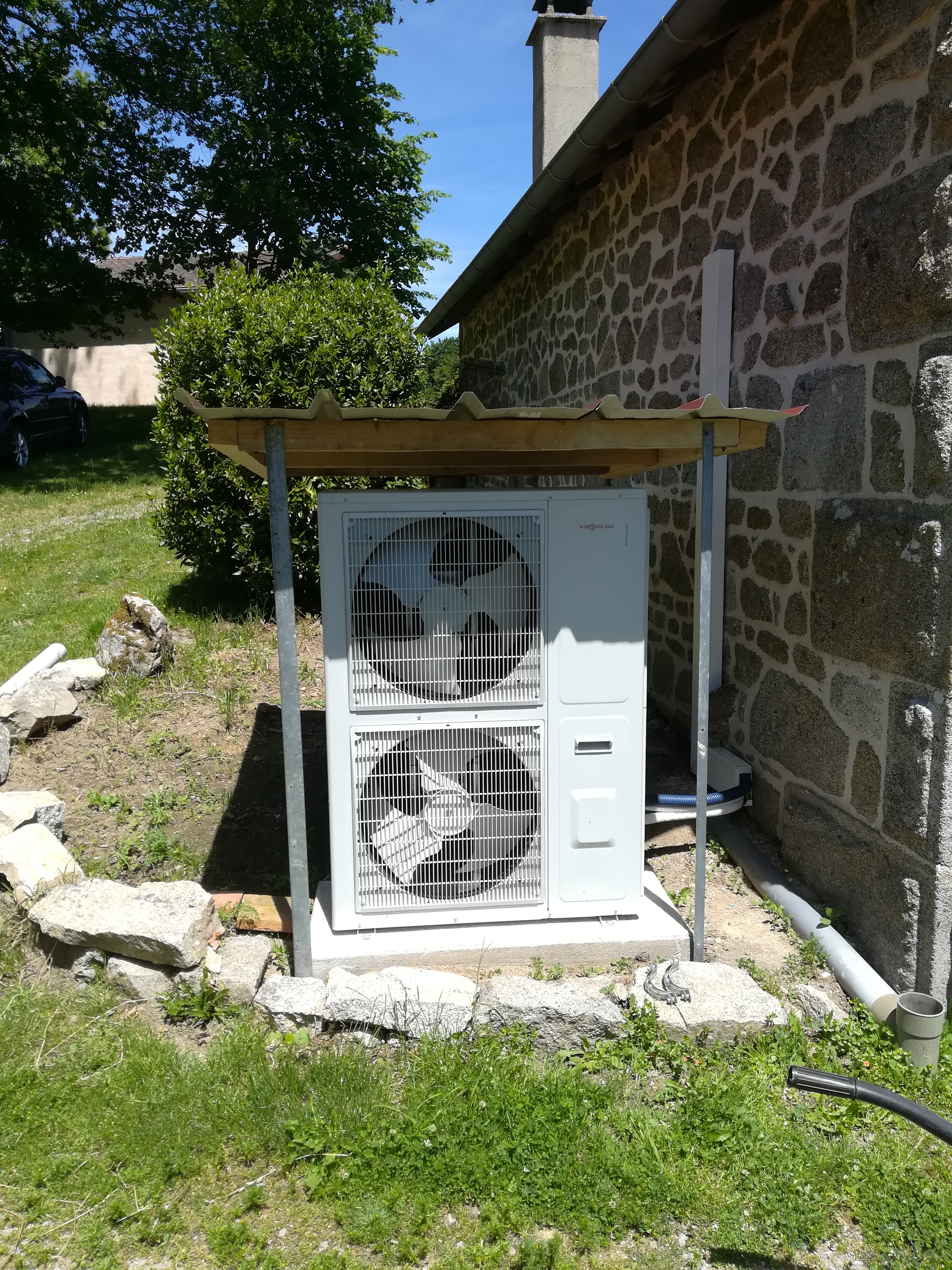 installation climatiseur en creuse guéret aubusson bonnat - Galerie Chauffage / Plomberie