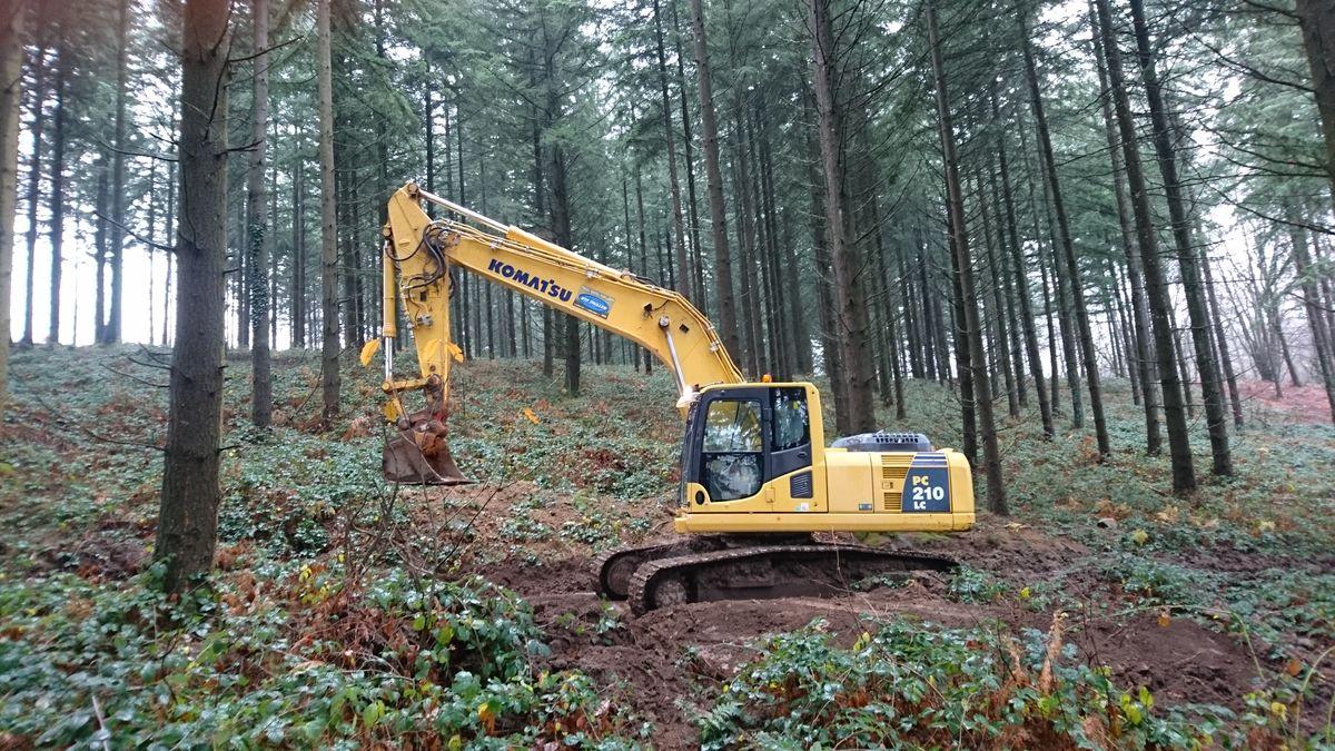 matériel travaux forestiers en creuse guéret aubusson bonnat - Galerie Terrassement / VRD