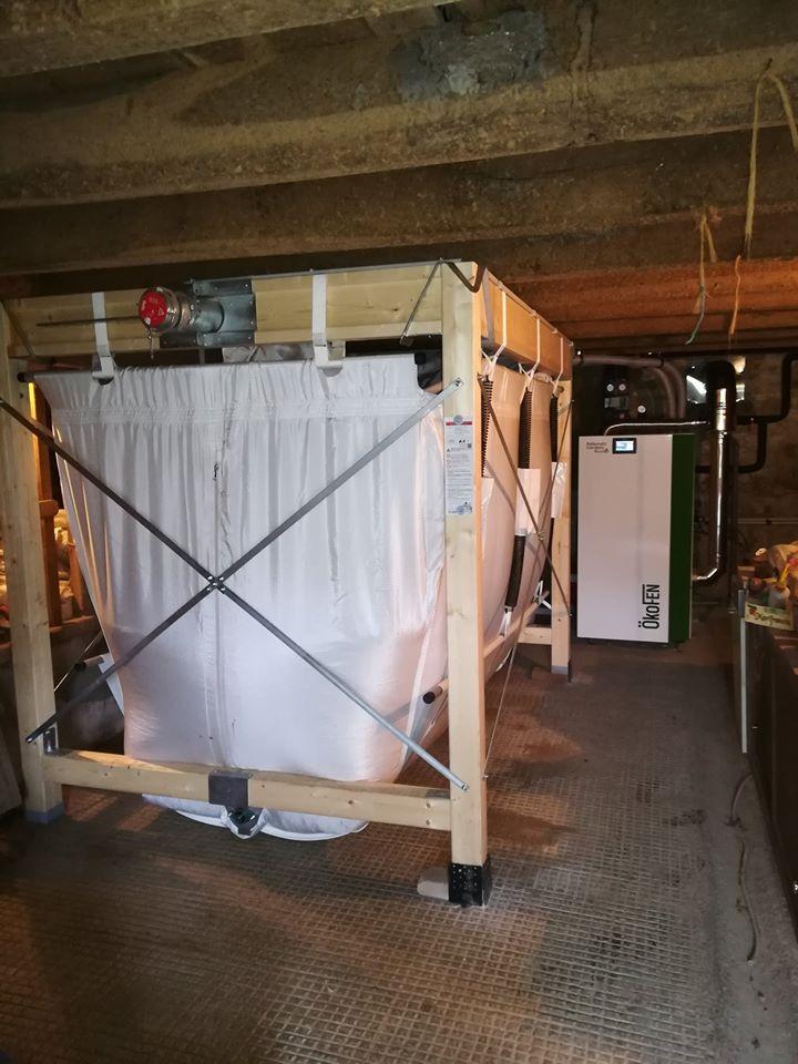 silo chaudière okofen - Galerie Chauffage / Plomberie