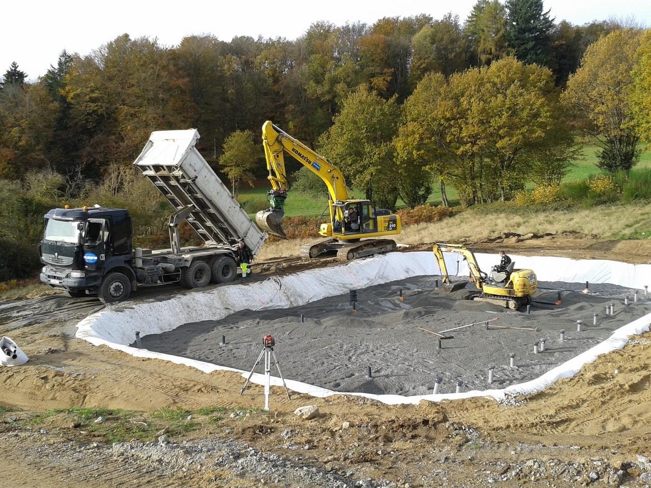 badant maçonnerie et construction en creuse guéret aubusson bonnat - Terrassement / VRD