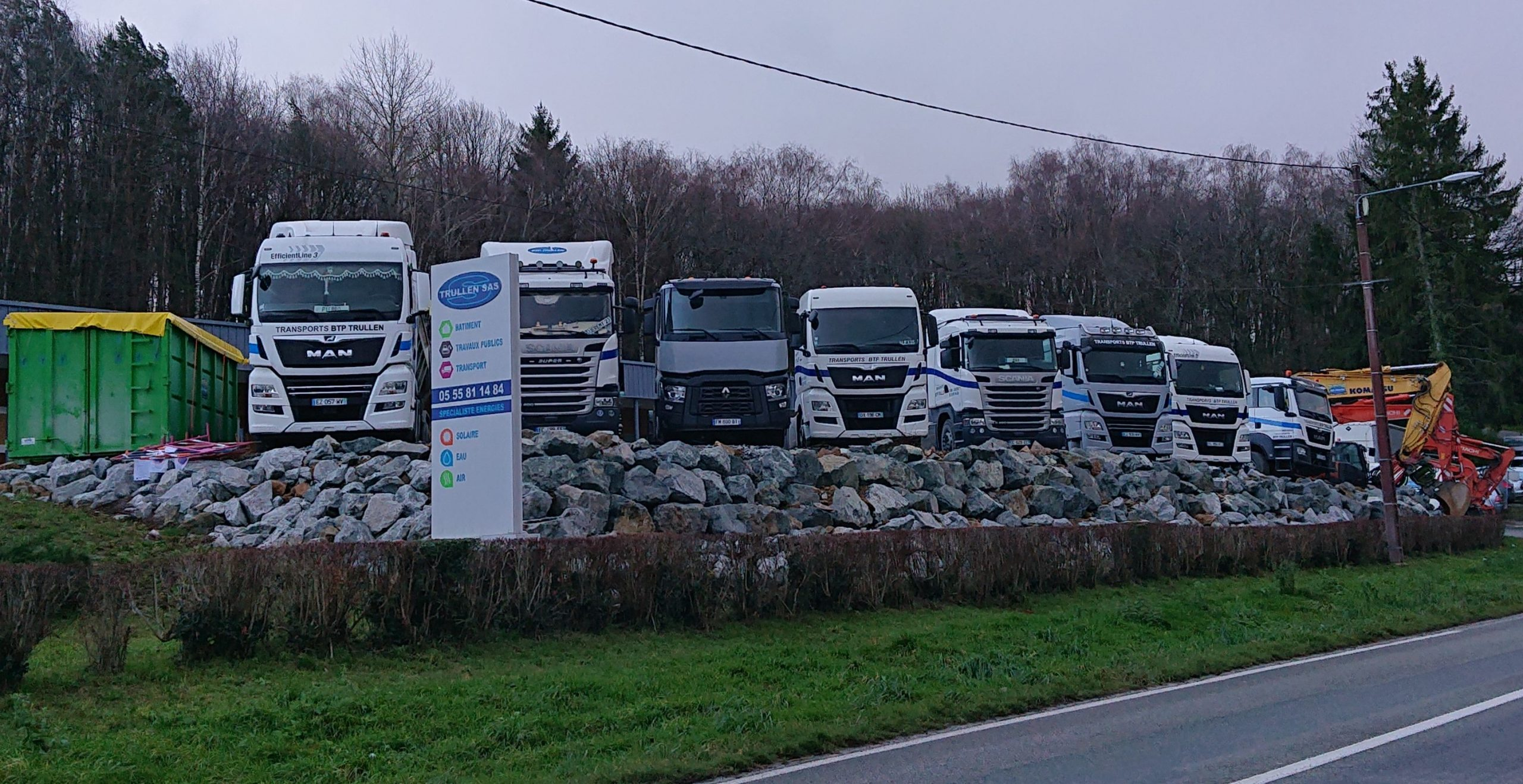 flotte de véhicule de transports en creuse guéret aubusson bonnat scaled - Galerie Transports