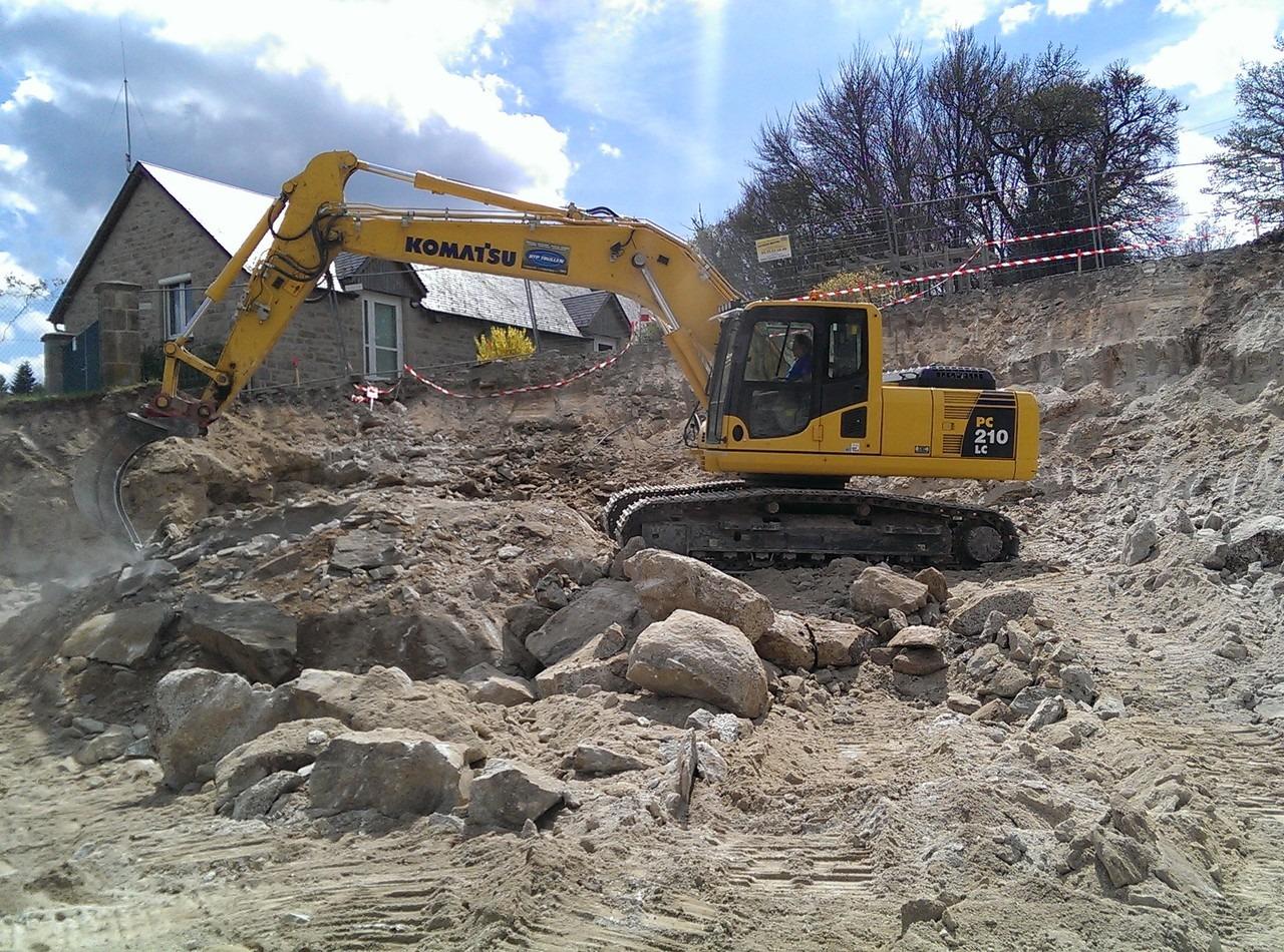 gentioux terrassement en creuse guéret aubusson bonnat - Galerie Terrassement / VRD