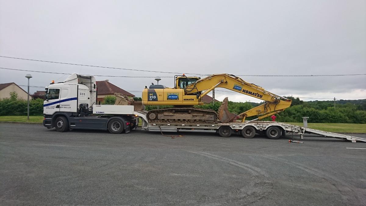 location matériel transports en creuse guéret aubusson bonnat - Transports