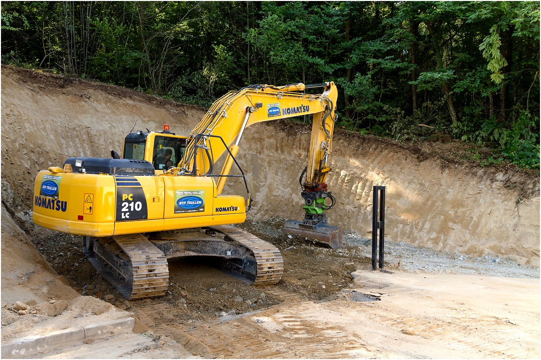 pc210 c matériel travaux publics en creuse guéret bonnat aubusson - Galerie Terrassement / VRD