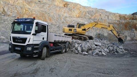 transports de granulats en creuse guéret aubusson bonnat - Galerie Transports