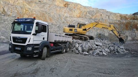 transports de granulats en creuse guéret aubusson bonnat - Transports